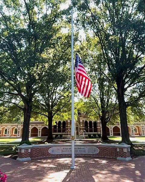 Today, we pause to honor those who perished on September 11, 2001, including the many brave first responders who sacrificed their lives to save others. We pay special tribute to four #URichmond alumni killed in the terror attacks: David Brady, '82, Donald Jones II, '84, Thomas Clark, '86 and Michael Finnegan, '86. We will #NeverForget.
