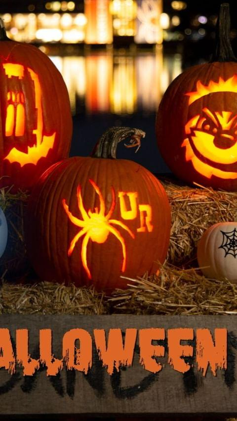 Not sure what to carve this year? Have no fear — we got you! Halloween is a Spider's favorite holiday, after all. 🎃🎃🎃 Head to the link in our bio to download our brand new spooky #Spider stencils, and then tag @urichmond so we can showcase your carvings on our account! 👻🕷