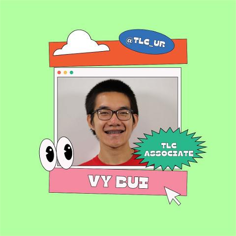 Everyone meet our wonderful consultant, vy! A fun fact about him is that for the longest time, he thought the rapper Eminem's name was spelled M&M (like the candy), and honestly I felt that.