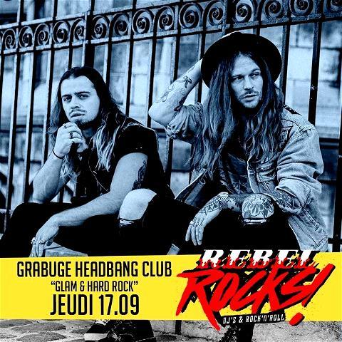 ⚠️ Les 𝕽𝖊𝖇𝖊𝖑 𝕽𝖔𝖈𝖐𝖘 reviennent ⚠️ le JEUDI 17.09 au #OSullivansChatelet retrouvez les Rebel Rocks avec les incontournables GRABUGE en DJ SET pour une ambiance 𝙂𝙡𝙖𝙢 & 𝙃𝙖𝙧𝙙 𝙍𝙤𝙘𝙠. 💃 Et lors des Rebel Rocks au #IrishPubChatelet, la pinte de KRO est au prix de 3,90€ toute la soirée 🍻 ⠀ PS: n'oubliez pas de venir avec vos plus beaux masques de Rebel 🤘