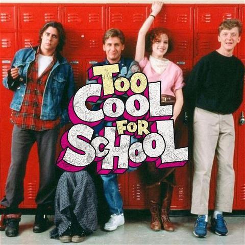 The Breakfast Club eux aussi étaient Too Cool For School 🤘 💪  Le 26 Septembre, vient prendre un verre au Rebel Bar. Si tu viens dans le thème, un jell-o shot offert 🍻