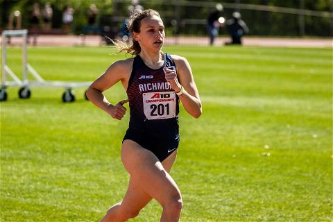 She traveled the trail. She floated the wagon. She avoided exhaustion.  And now, it's race day in Oregon for Brooke Fazio.  Good luck to Brooke as she will compete in the 800m semifinal tonight at the 2021 ncaatrackfield Championship Finals! Tune in to ESPN2 at 8:14PM to catch the action!  #OneRichmond