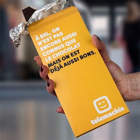 Heerlijke chocolade in Brussel voor Telemachin #butikagency