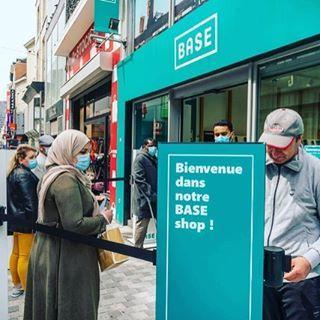 Vandaag zijn we blij in de wachtrij voor BASE. #butikcando