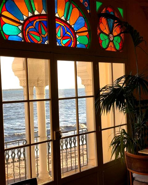 We can't wait until next spring to enjoy these views with you ! 💛 Lots more exciting changes to come 👀   #villadjunah #djunahliving #frenchriviera #cotedazur #happyplace #goodvibes #jlp #antibesjuanlespins #renovation #seeyounextyear