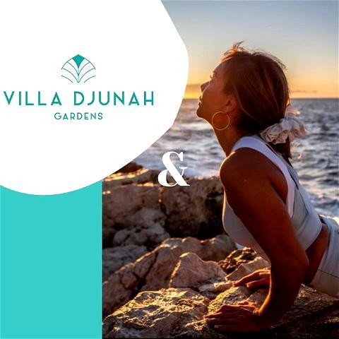 Villa Djunah vous fait le plein de nouveautés cet été ✨  Dès ce samedi, venez profiter d'un cours de yoga hebdomadaire accompagné par nos deux professeurs @happinessyogabyax et @agapibypangeles 🧘♀️  21€/séance tous les samedis à 10h30 - accompagné d'un jus detox à la fin de la pratique   Réservation obligatoire   #villadjunah #yogaclass #yogaseaview #antibesjuanlespins #cotedazur #cotedazurfrance #yogaantibes #yogapleinair